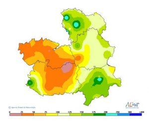Resúmenes climatológicos. Castilla-La Mancha