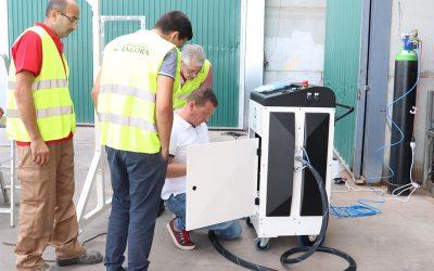 Presentamos nuestra nueva máquina ecológica de conservación